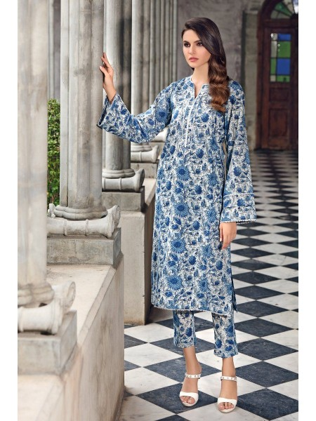 Gul Ahmed Mid Summer Collection Cambric Printed Unstitched Shirt SCN-128 A