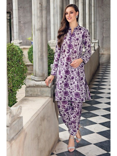Gul Ahmed Mid Summer Collection Cambric Printed Unstitched Shirt SCN-128 B