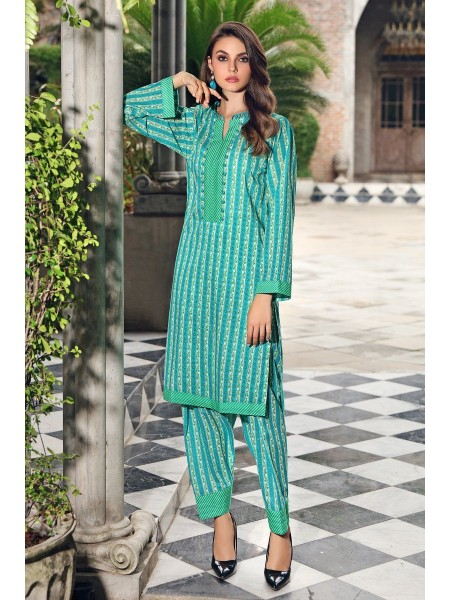 Gul Ahmed Mid Summer Collection Cambric Printed Unstitched Shirt SCN-129 A