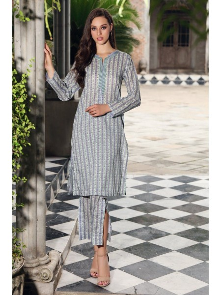Gul Ahmed Mid Summer Collection Cambric Printed Unstitched Shirt SCN-129 B