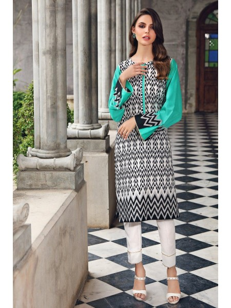 Gul Ahmed Mid Summer Collection Cambric Printed Unstitched Shirt SCN-130 A