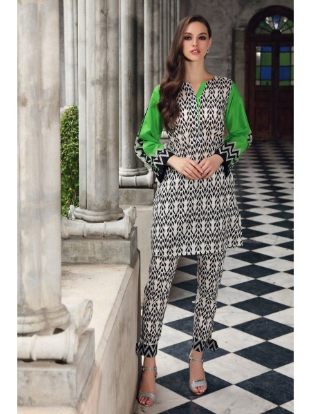 Gul Ahmed Mid Summer Collection Cambric Printed Unstitched Shirt SCN-130 B