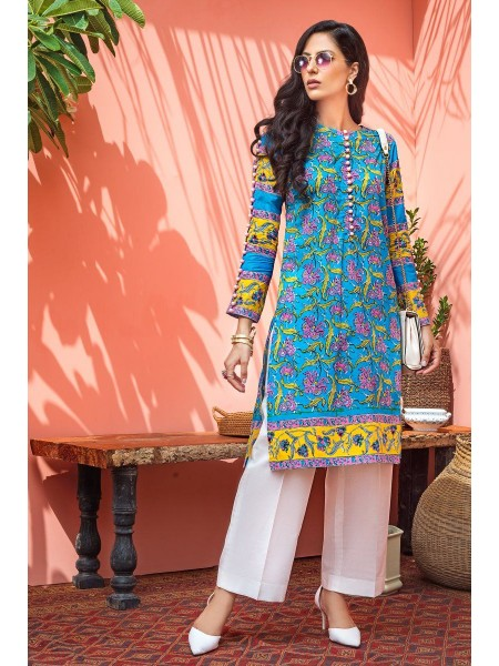 Gul Ahmed Mid Summer Collection Cambric Printed Unstitched Shirt SCN-132 A