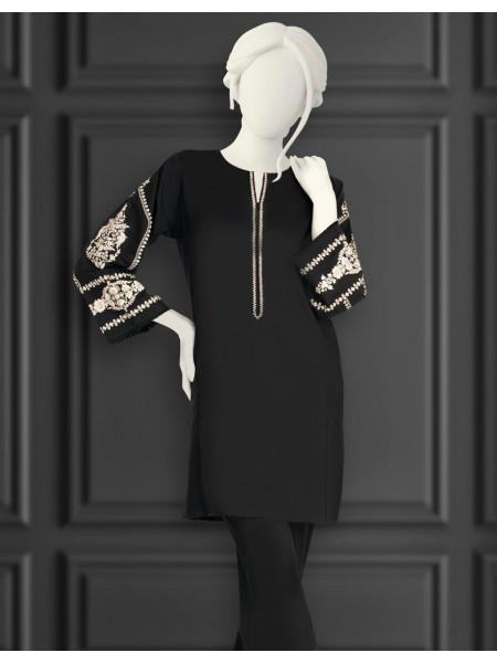 Junaid Jamshed Black And White Collection JJLK-S-JSS-20-492 FB-MC-20-006