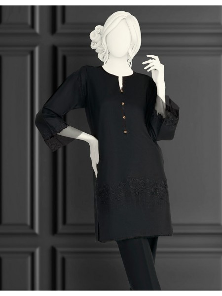 Junaid Jamshed Black And White Collection JJLK-S-JSS-20-494 FB-MC-20-008