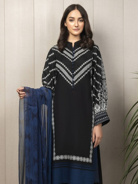Lime Light Summer Collection Vol3 2-Pc Cambric Suit U1191SU-2PC-BLK