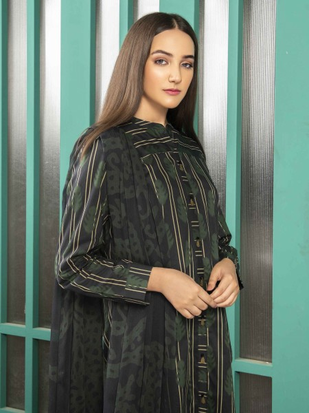 Lime Light Summer Collection Vol3 2-Pc Cambric Suit U1280SU-2PC-BLK