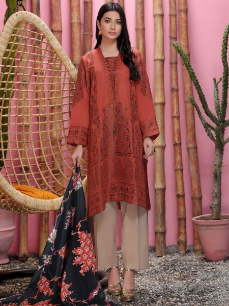 Lime Light Summer Collection Vol3 2-Pc Jacquard Suit U1095-2PC-RST
