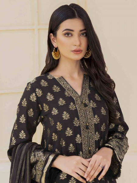 Lime Light Summer Collection Vol3 2-Pc Jacquard Suit U1201-2PC-BLK