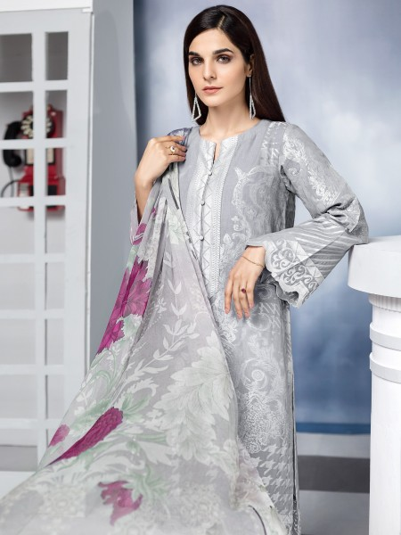 Lime Light Summer Collection Vol3 2-Pc Jacquard Suit U1202-2PC-SVR
