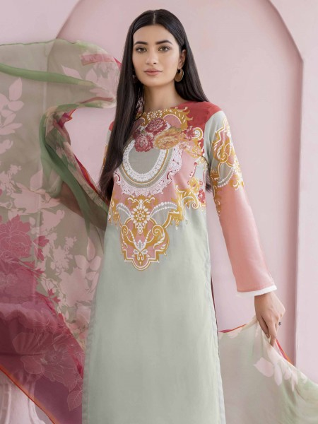Lime Light Summer Collection Vol3 2-Pc Lawn Suit U0912SU-2PC-MNT