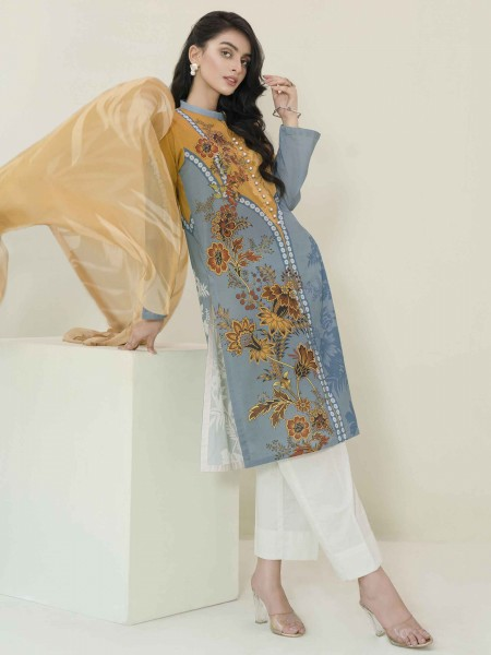 Lime Light Summer Collection Vol3 2-Pc Lawn Suit U1185SU-2PC-OCH