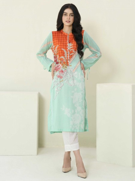 Lime Light Summer Collection Vol3 Lawn Shirt U1235SH-SSH-SGN