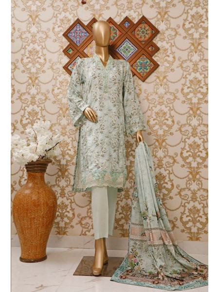 BIN SAEED Stitched Linen Collection V-01 Design 3779
