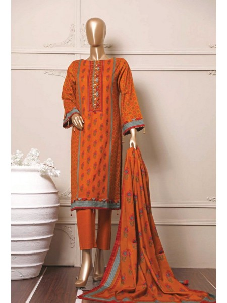 BIN SAEED Stitched Mid Summer Cotton Collection Vol-01 D-03
