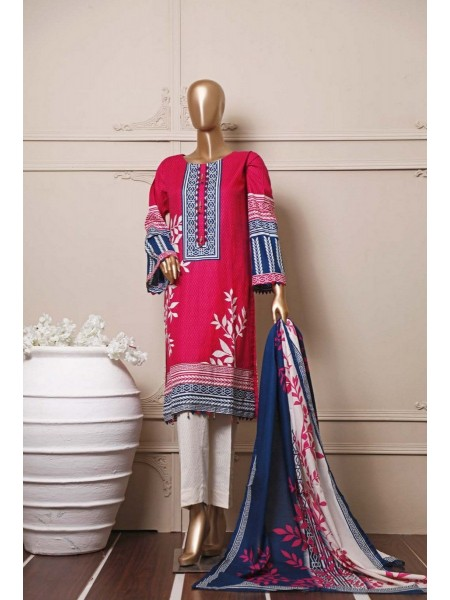BIN SAEED Stitched Mid Summer Cotton Collection Vol-01 D-04