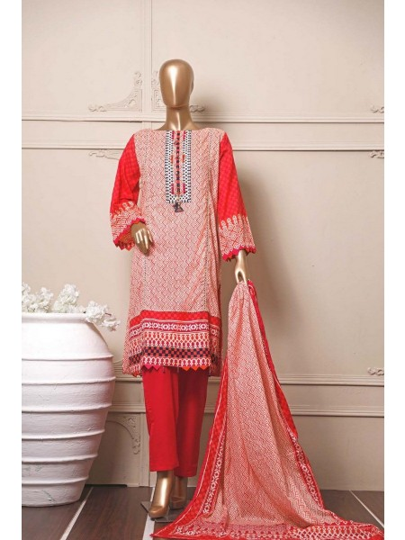 BIN SAEED Stitched Mid Summer Cotton Collection Vol-01 D-05