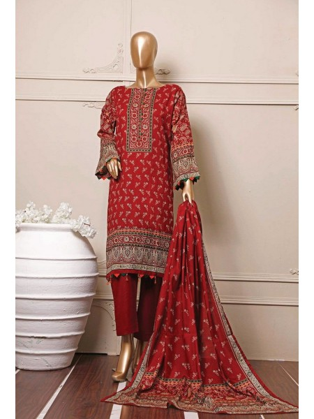 BIN SAEED Stitched Mid Summer Cotton Collection Vol-01 D-08