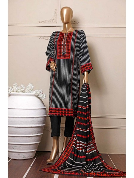 BIN SAEED Stitched Mid Summer Cotton Collection Vol-01 D-09