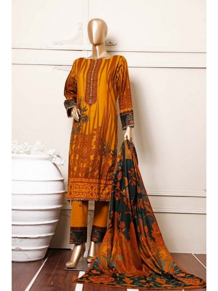 BIN SAEED Stitched Mid Summer Cotton Collection Vol-01 D-13