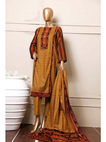 BIN SAEED Stitched Mid Summer Cotton Collection Vol-01 D-16
