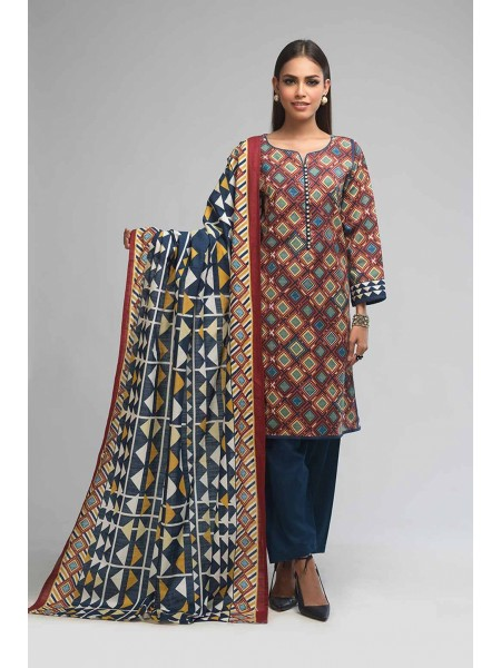Bonanza Satrangi Winter Collection Vol1 RALLI FIESTA B - 3 PC B2100004159983