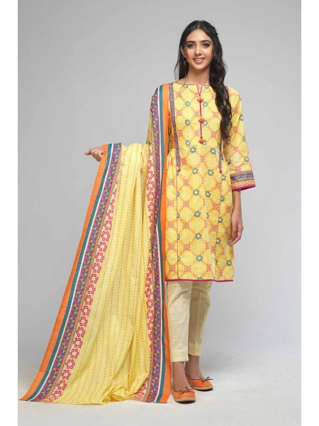 Bonanza Satrangi Winter Collection Vol1 SIMPLE STITCHES A - 3 PC B2100004163713