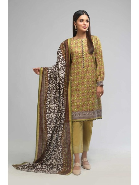 Bonanza Satrangi Winter Collection Vol1 TRADITIONAL GLORY A - 3 PC B2100004159938