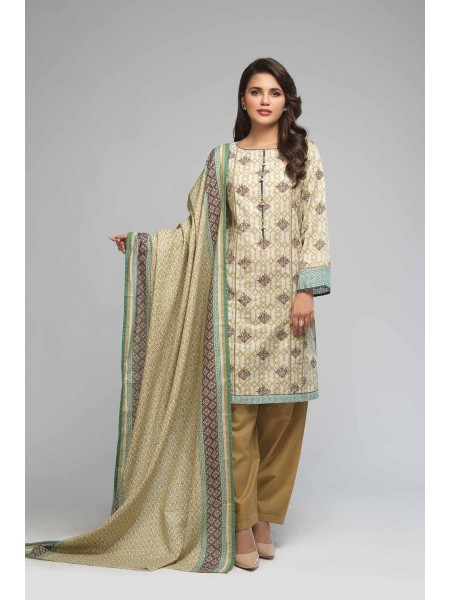 Bonanza Satrangi Winter Collection Vol1 TRADITIONAL MAZE A - 3 PC B2100004163249