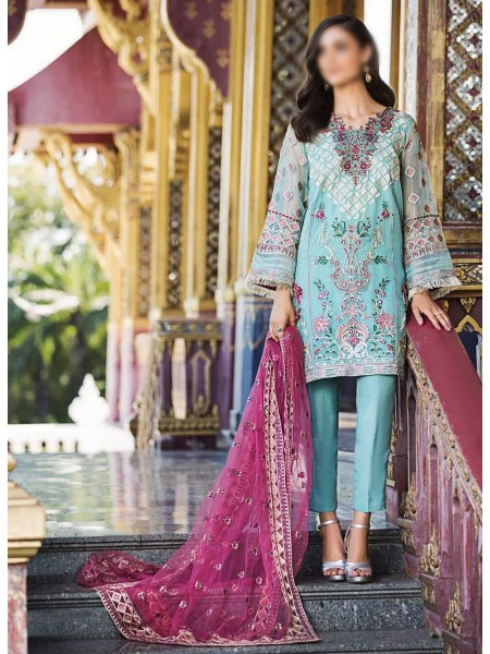 CHARIZMA Unstitched Diamond Dust Embroidered Collection D-DD 003