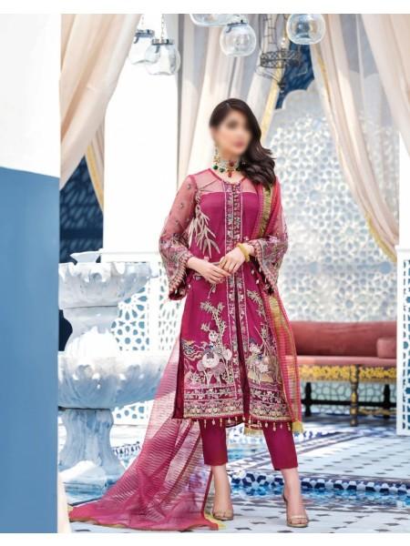 GULAAL Adila Unstitched Luxury Formals - D-6 AMEUR