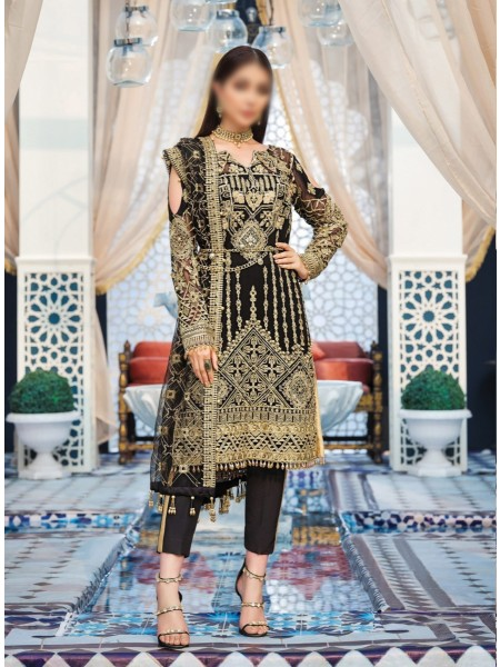 GULAAL Adila Unstitched Luxury Formals - D-8 SOUHAILE
