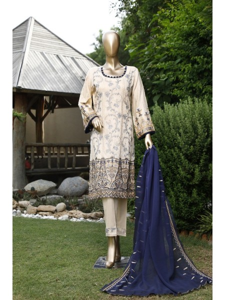 Maimoona Ahmed Exclusive Unstitch Embroidered Series D-02