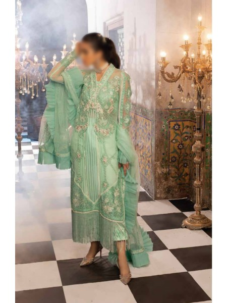 MUSHQ Tissue de Luxe 20 Luxury Chiffon and Tulle Col - MINT MELODY - MCL-08
