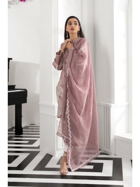 Sapphire Ready To Wear Goldmine Pink Dupatta 2PSESRN2C01D