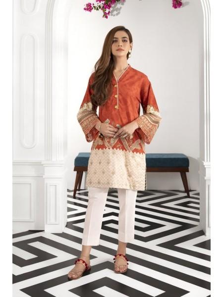 Sapphire Ready To Wear Orange Botanical 2PSESIG2C05S-XSM-999