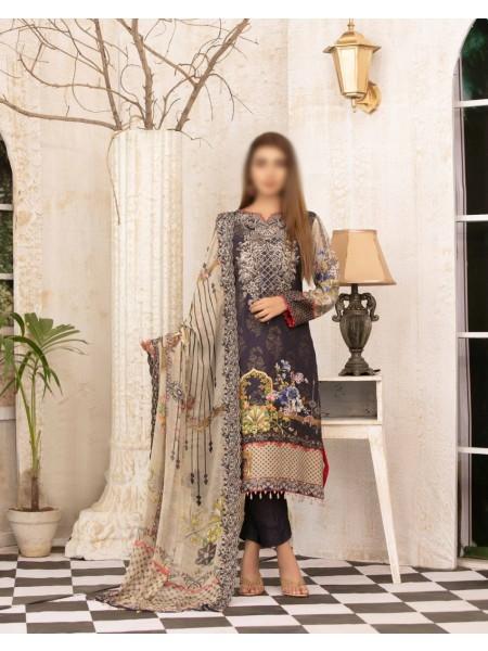 TAWAKKAL A FairyTale Impression Karandi Broshia Banarsi Col D-8611