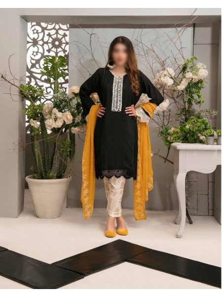 TAWAKKAL Aria Grip Stitched Silk Collection D-9048