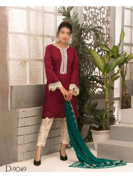 TAWAKKAL Aria Grip Stitched Silk Collection D-9049