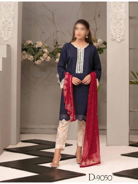 TAWAKKAL Aria Grip Stitched Silk Collection D-9050