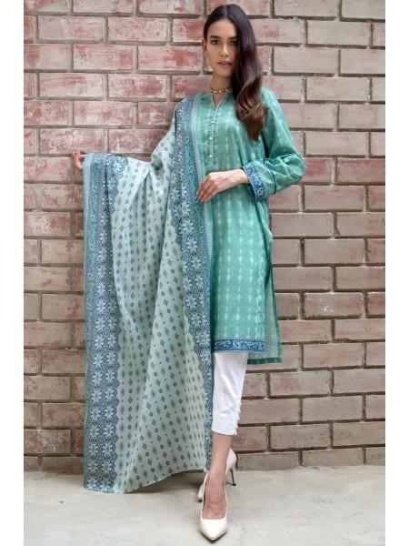 Zeen Woman Print Pret Stitched 2 Piece Printed Lawn Suit ZW-021