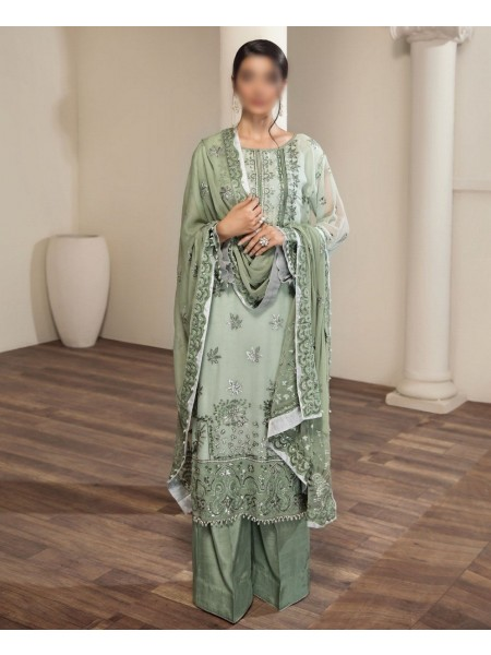 ALIZEH EMBROIDERED Unstitched CHIFFON Collection VOL-2 D-RAHMI