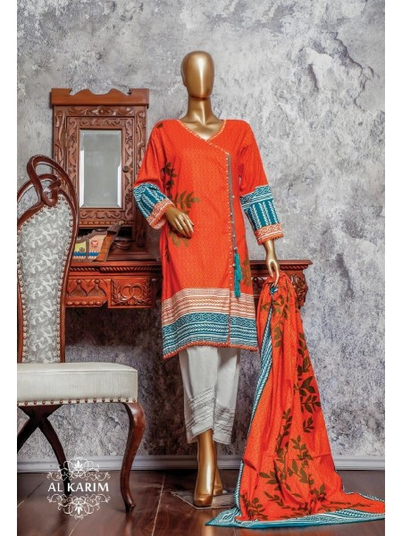 Amna Khadija Signature Unstitched Cotton Collection - D-06