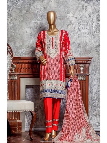 Amna Khadija Signature Unstitched Cotton Collection - D-12