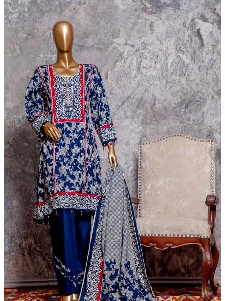 Amna Khadija Signature Unstitched Cotton Collection - D-13