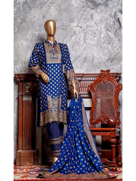 Amna Khadija Signature Unstitched Cotton Collection - D-19