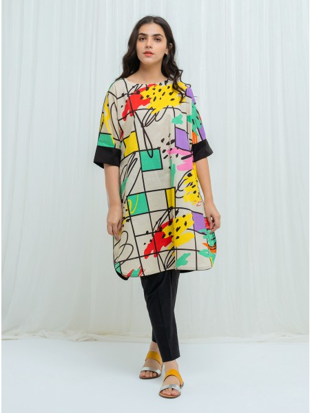 BeechTree AW 2020 Unstitched Collection COLOR POP - 2 Piece BT1W20U03-MIX-2000000151368-2P