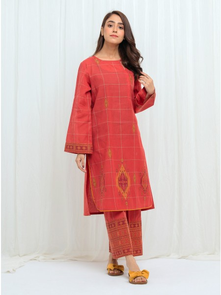 BeechTree AW 2020 Unstitched Collection CORAL HUSE - 2 Piece BT1W20U69-MIX-2000000152254-2P
