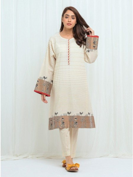 BeechTree AW 2020 Unstitched Collection DELICATE DEW - 2 Piece BT2W20U74-MIX-2000000152261-2P