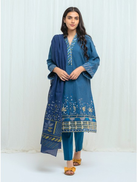 BeechTree AW 2020 Unstitched Collection MIDNIGHT CHARM - 2 Piece BT1W20U46-MIX-2000000152249-2P